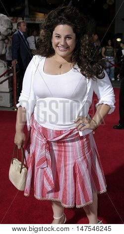 Marissa Jaret Winokur at the Los Angeles premiere of 'Just Like Heaven' held at the Grauman's Chinese Theatre Hollywood, USA on September 8, 2005.