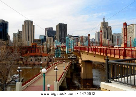 Urban St. Paul  Skyline