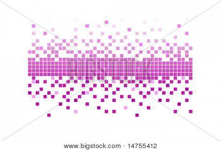 pixels rosa