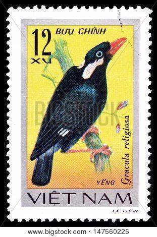 VIETNAM - CIRCA 1978 : Cancelled postage stamp printed by Vietnam, that shows bird.