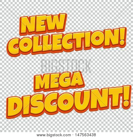 New Collection Mega Discount banners collection.You can be used for banners, flyers, outdoor printing, web.