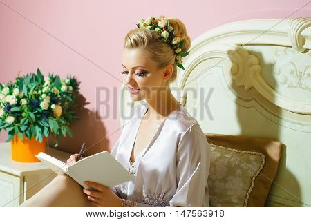 Bride Write Vow