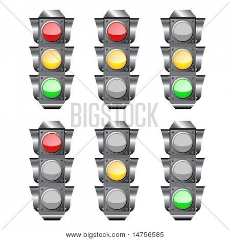 semaphore or traffic lights
