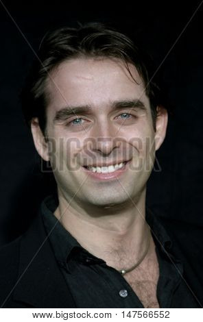 Bruno Campos at the FX Networks NIP/TUCK 3rd Season premiere held at the El Capitan Theatre in Hollywood, USA on September 10, 2005.