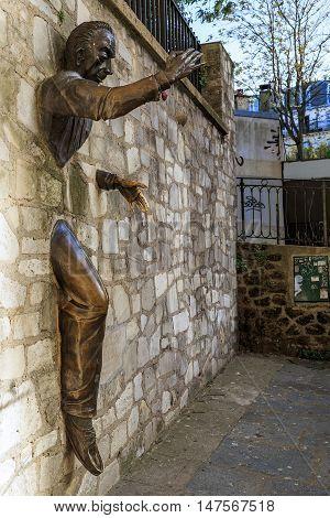 PARIS, FRANCE - MAY 12, 2015: It is a sculpture by Jean Marais