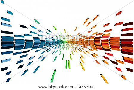 fundo digital pixel abstrata