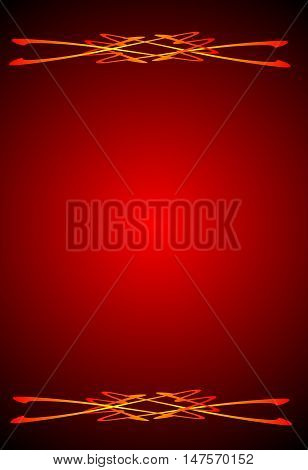 abstract red abstract background suitable as a container or background
