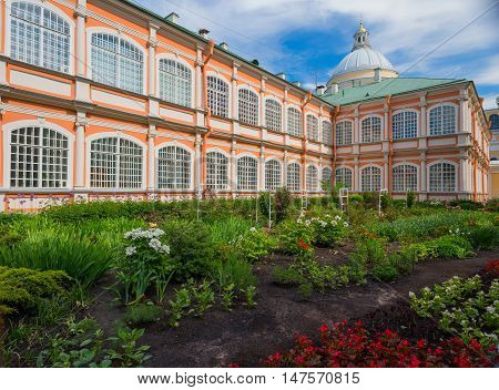 Alexander Nevsky Lavra In St. Petersburg..