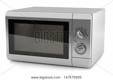 Microwave Metal Kitchen 3D