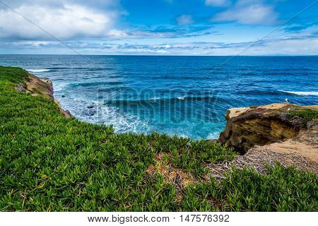 The Pacific Ocean Coastline In California