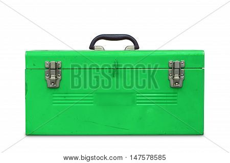 Old Green Toolbox