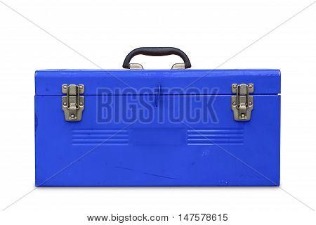 Old Blue Toolbox