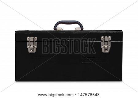 Old Black Toolbox