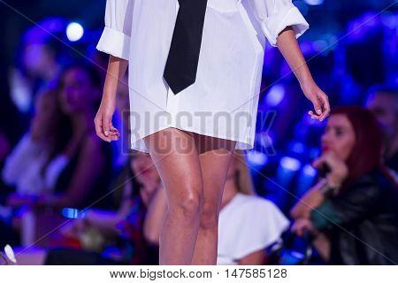 Sofia Fashion Week Female White Shirt