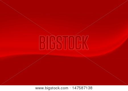 red abstract smooth dynamic wave blur empty background for greeting card with place for your text