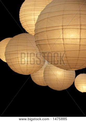 Balloon Paper Lamps