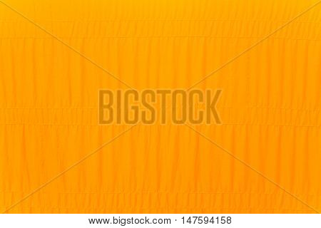 yellow robe of buddhist monk texture background