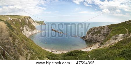 Man o War Cove at Dorset, England, UK
