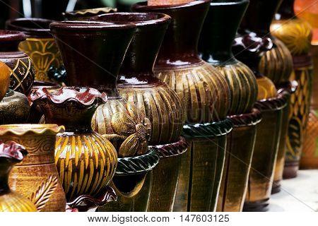 Retro big Vase in the market for sale
