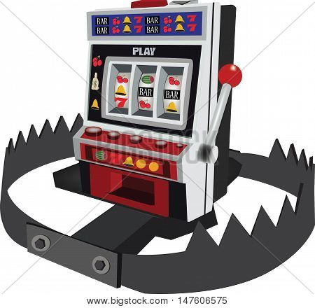 trap slots slot machine gambling with trap and trap
