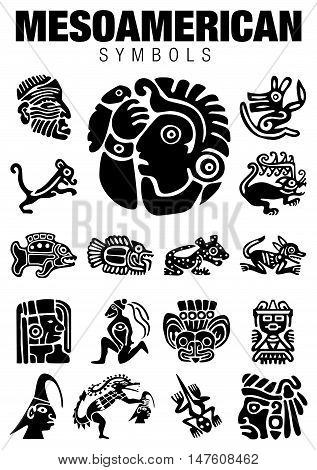 Mesoamerican Symbols1.eps