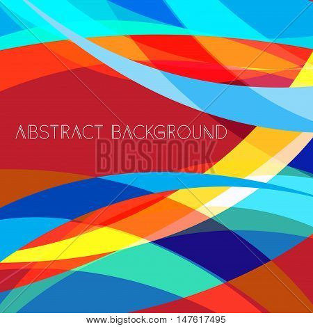Abstract bright colorful background. Modern abstract poster design album artwork card design