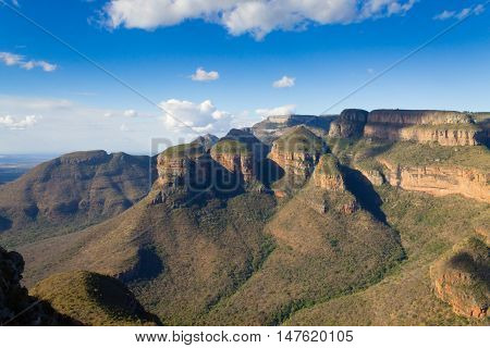 The Three Rondavels View, South Africa