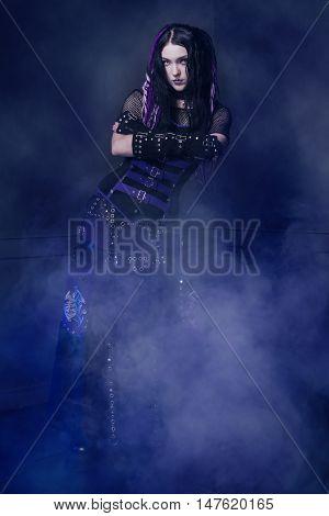 Cyber Gothic Girl