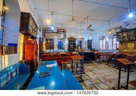 The Kosov Synagogue, In The Jewish Quarter, Safed (tzfat)