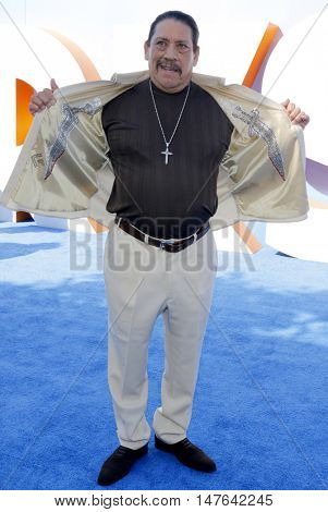 Danny Trejo at the Los Angeles premiere of 'Storks' held at the Regency Village Theatre in Westwood, USA on September 17, 2016.
