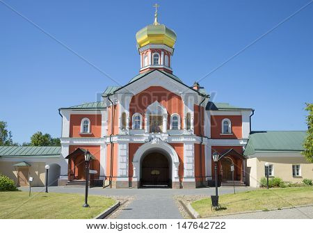 The old Church of St. Philip, Metropolitan of Moscow. Valday Iversky Svyatoozerskiy monastery