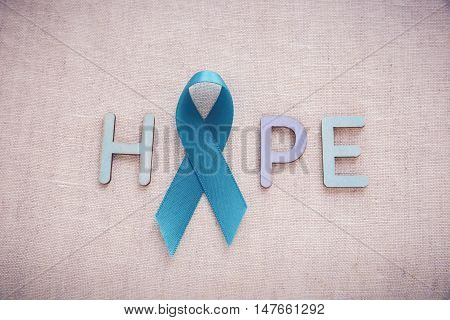 Light Blue, Sky Blue Ribbons Toning Background, Prostate Cancer Awareness,achalasia Awareness And Ad