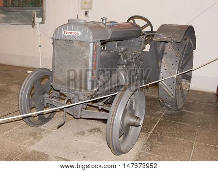 Moscow, Russia -September 4, 2016: Tractor Fordson (1913) in