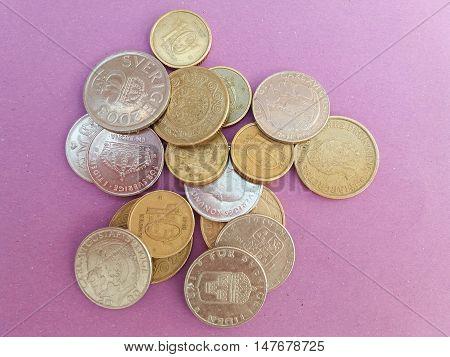 Swedish And Danish Coins