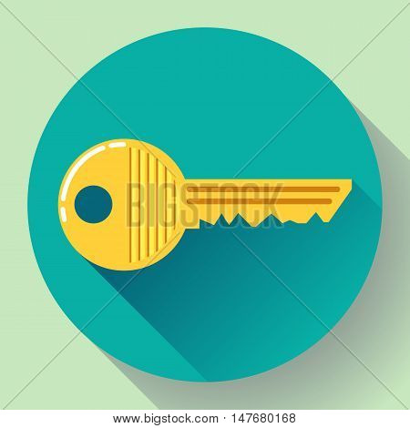 Site profile, House or car kay icon - entrance symbol, password icon, and security code