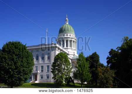 Maine State House, Augusta..