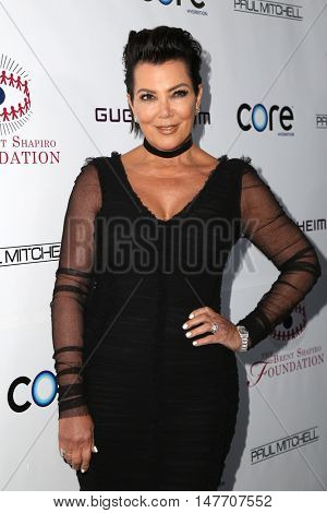 LOS ANGELES - SEP 17:  Kris Jenner at the Brent Shapiro Foundation for Alcohol and Drug Prevention at the Private Residence on September 17, 2016 in Beverly Hills, CA