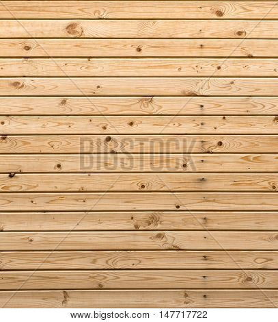 New wooden horizontal plank wall texture background