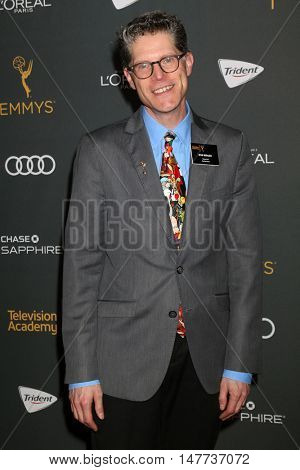 LOS ANGELES - SEP 16:  Bob Bergen at the TV Academy Performer Nominee Reception at the Pacific Design Center on September 16, 2016 in West Hollywood, CA