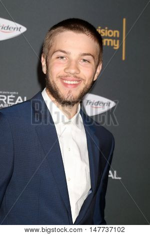 LOS ANGELES - SEP 16:  Connor Jessup at the TV Academy Performer Nominee Reception at the Pacific Design Center on September 16, 2016 in West Hollywood, CA