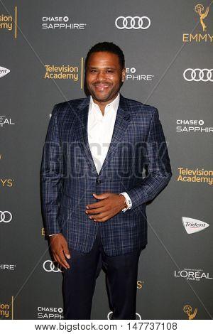 LOS ANGELES - SEP 16:  Anthony Anderson at the TV Academy Performer Nominee Reception at the Pacific Design Center on September 16, 2016 in West Hollywood, CA