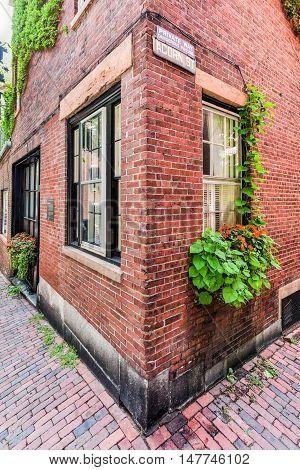 Acorn Street - Boston, Massachusetts