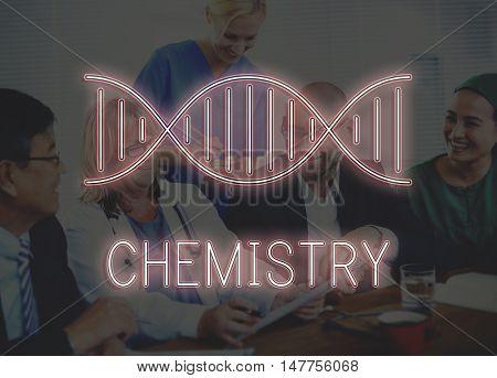 DNA Chromosome Genetics Concept