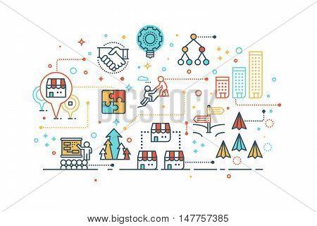 Franchise Business Concept