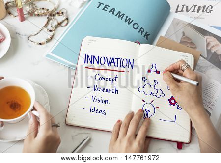 Innovation Creativity Simplicity Style Design Concept