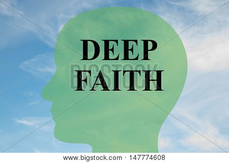 Deep Faith - Mental Concept