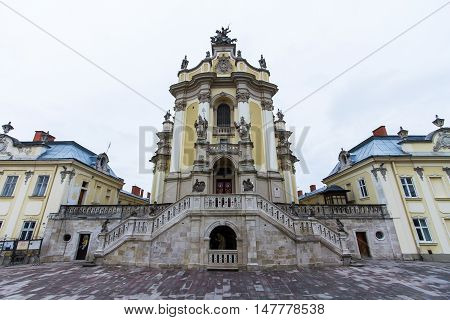 St. George's Cathedral in Lviv. Ukraine. 1744-1762.