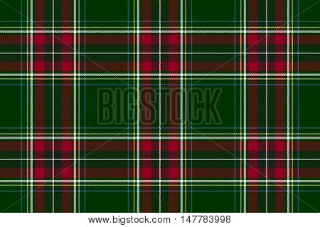Green red check texture background seamless pattern