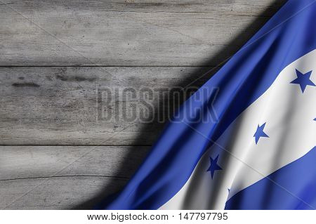 Honduras Flag Waving