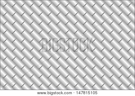 Texture metal tiles or scales. Gray metal. Background